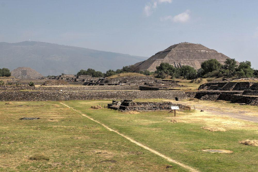 Site archéologique de Teotihuacan, Vallée de Mexico, Mexique