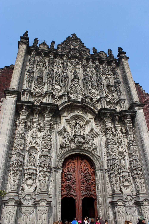 Cathédrale de Mexico City, D.F, Mexique