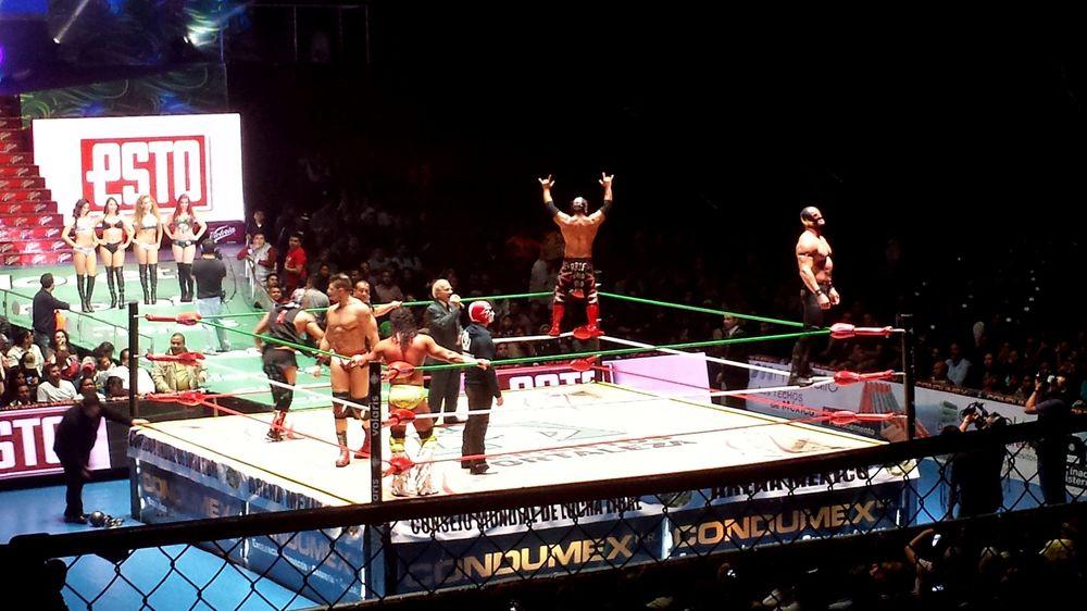 Combat de Lucha Libre, Arena de Mexico, Cuauhtémoc, Mexico City, D.F, Mexique