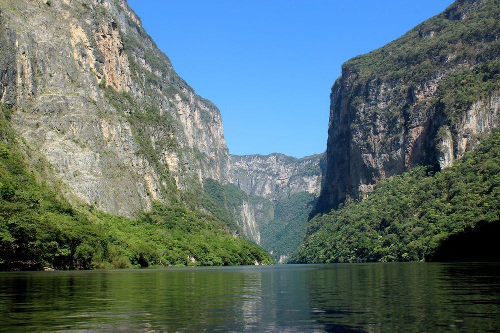Cañón del Sumidero, Chiapas, Mexique
