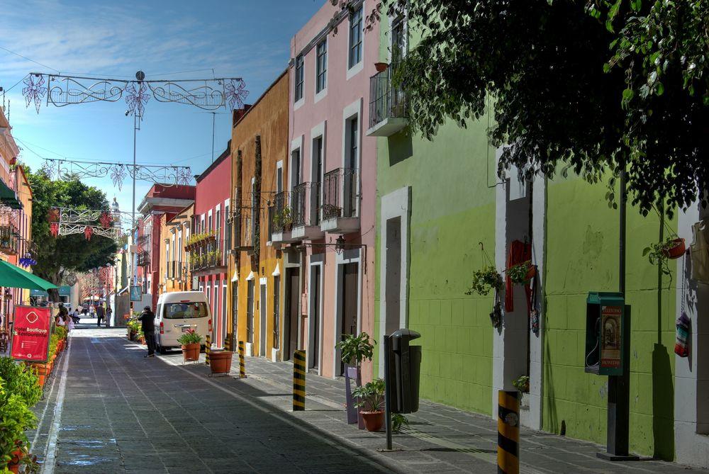 Dans les rues de Puebla, Puebla, Mexique