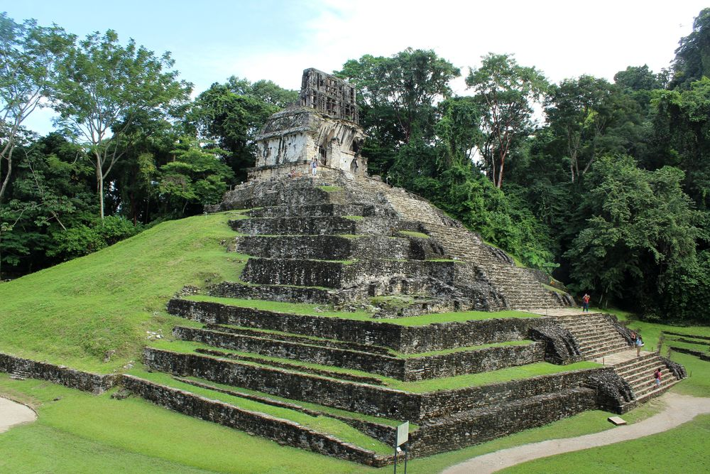 Site archéologique de Palenque,  Chiapas, Mexique