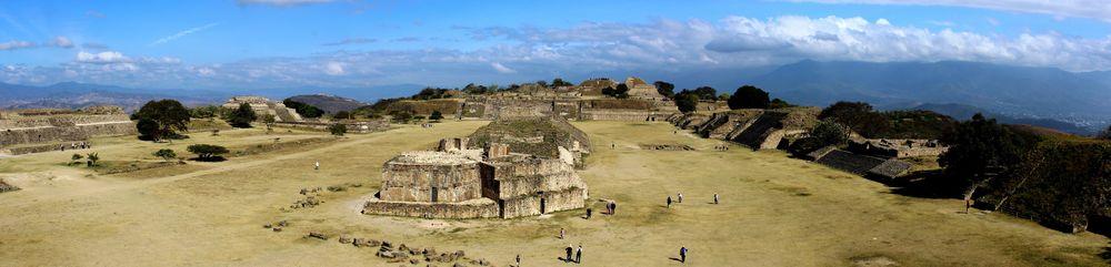 Site archéologique de Monte Albán, Oaxaca, Oaxaca, Mexique