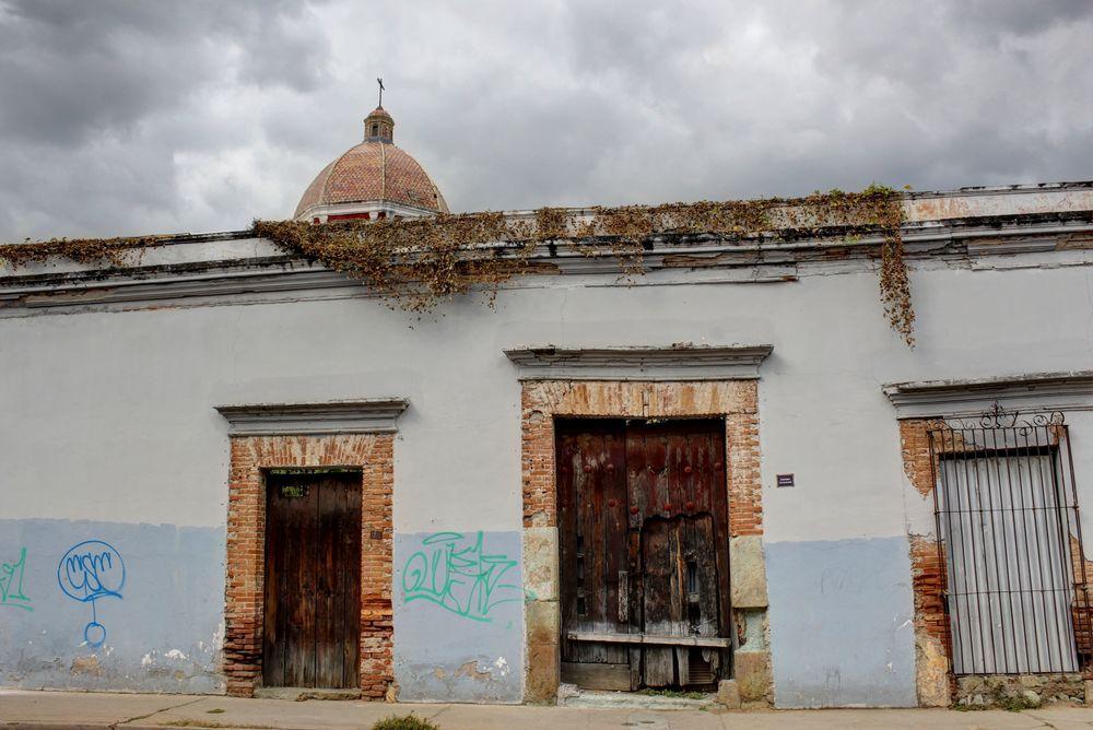 Dans les rues de Oaxaca, Oaxaca, Mexique