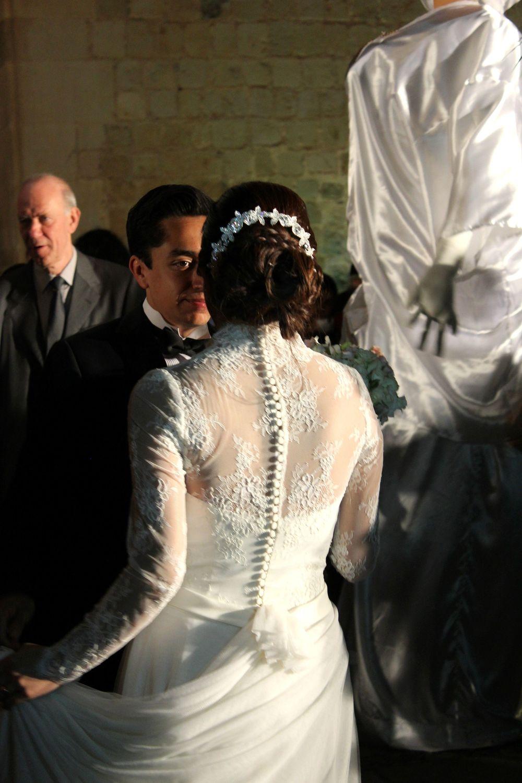 Mariage dans les rues de Oaxaca, Oaxaca, Mexique