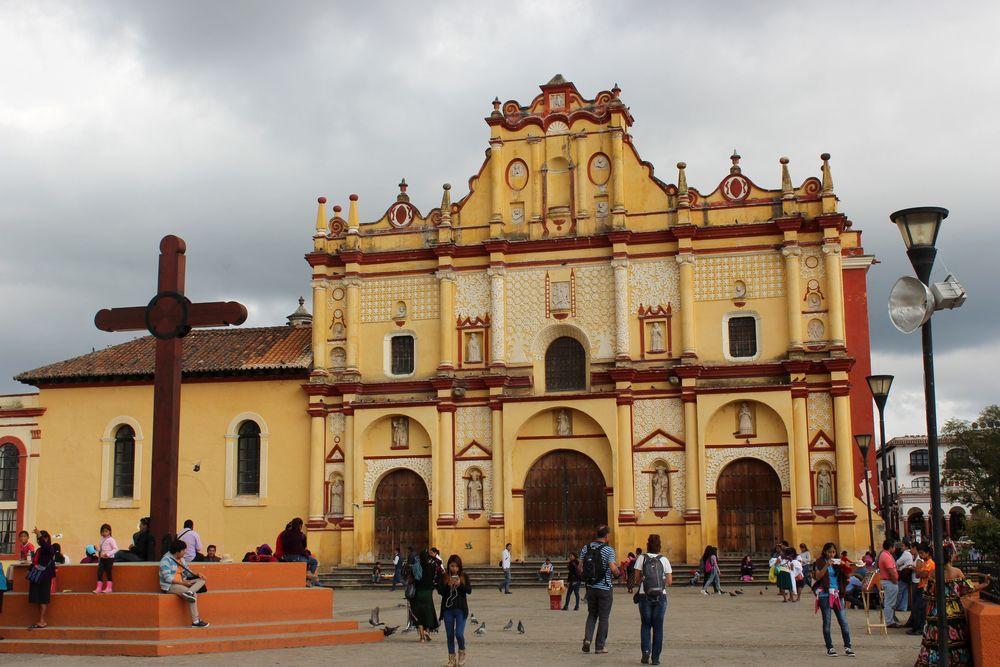 Cathédrale de San Cristóbal de las Casas, Chiapas, Mexique