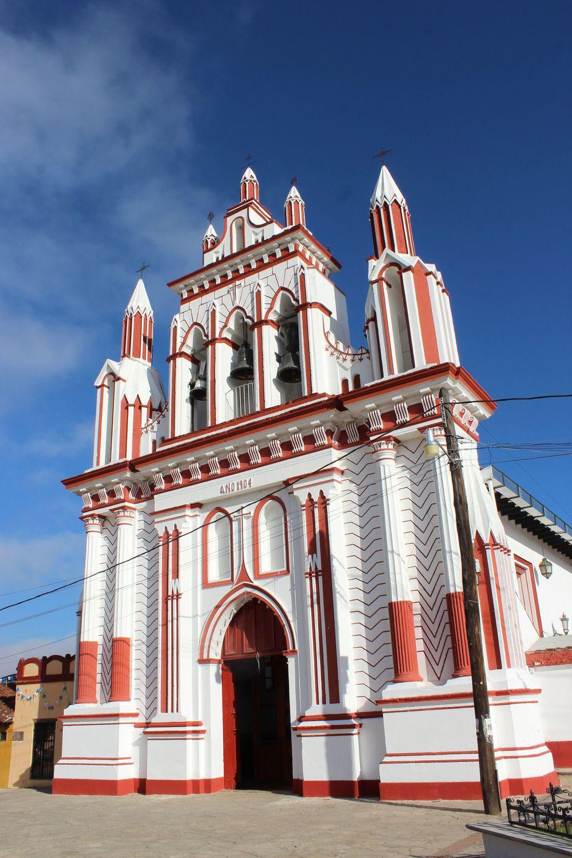 Eglise San Cristobal de las Casas, Chiapas, Mexique