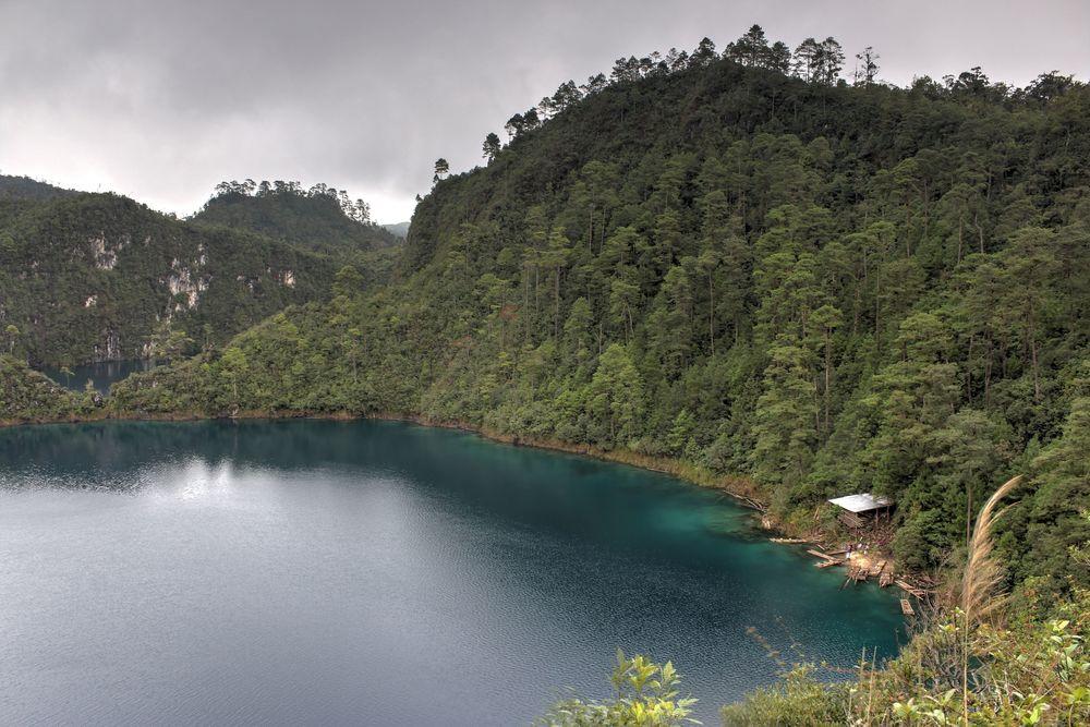 Lagunas de Montebello, Chiapas, Mexique
