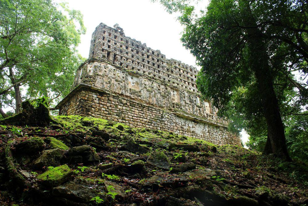 Cité Maya de yaxchilan, Chiapas, Mexique