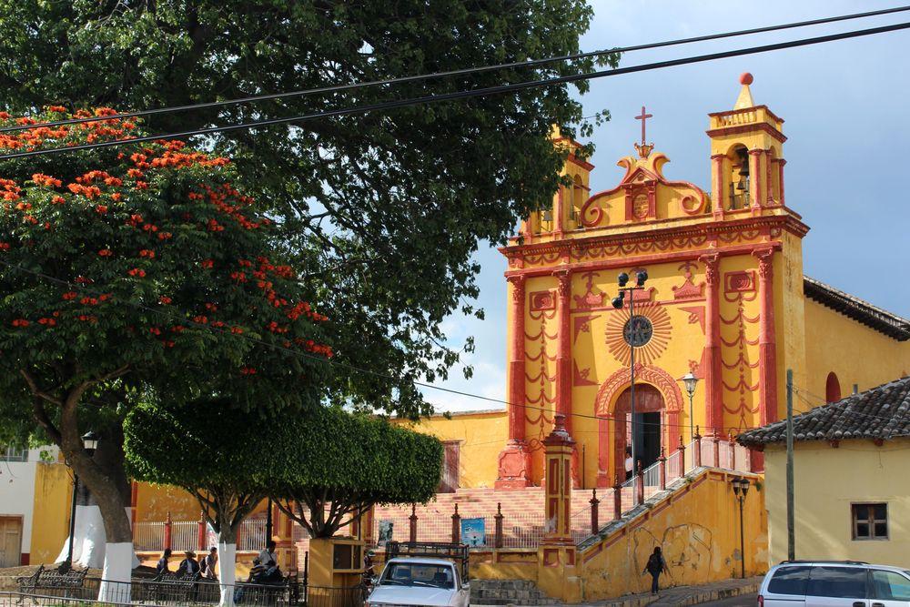Eglise de Comitán de Domínguez, Chiapas, Mexique