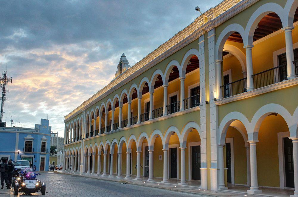 Zocalo de Campeche, Campeche, Mexico