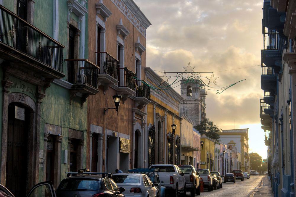 Dans les rues de Campeche, Campeche, Mexico