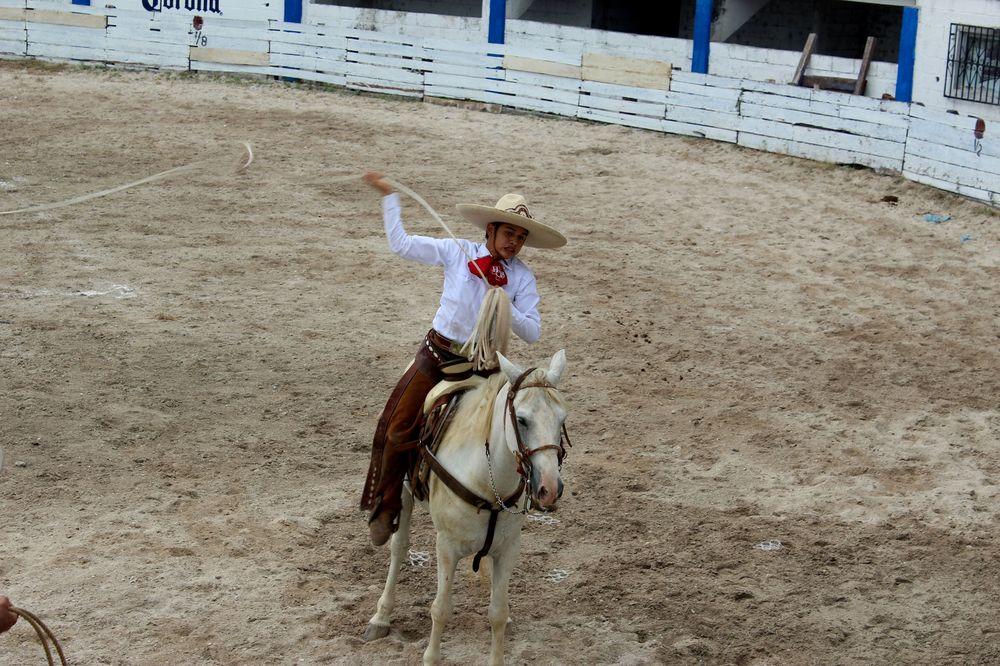 Participant à la Charrería, Campeche, Mexico