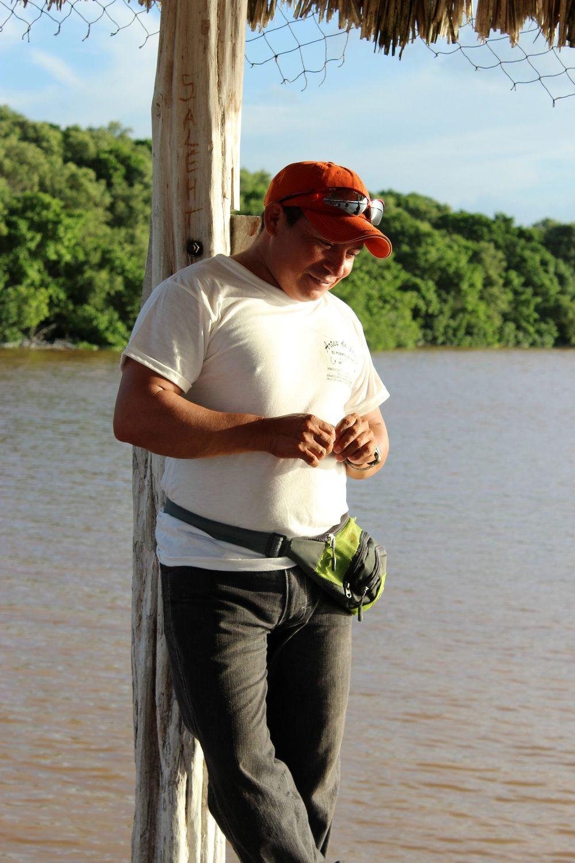 Notre guide, Celestùn, Yucatán, Mexico