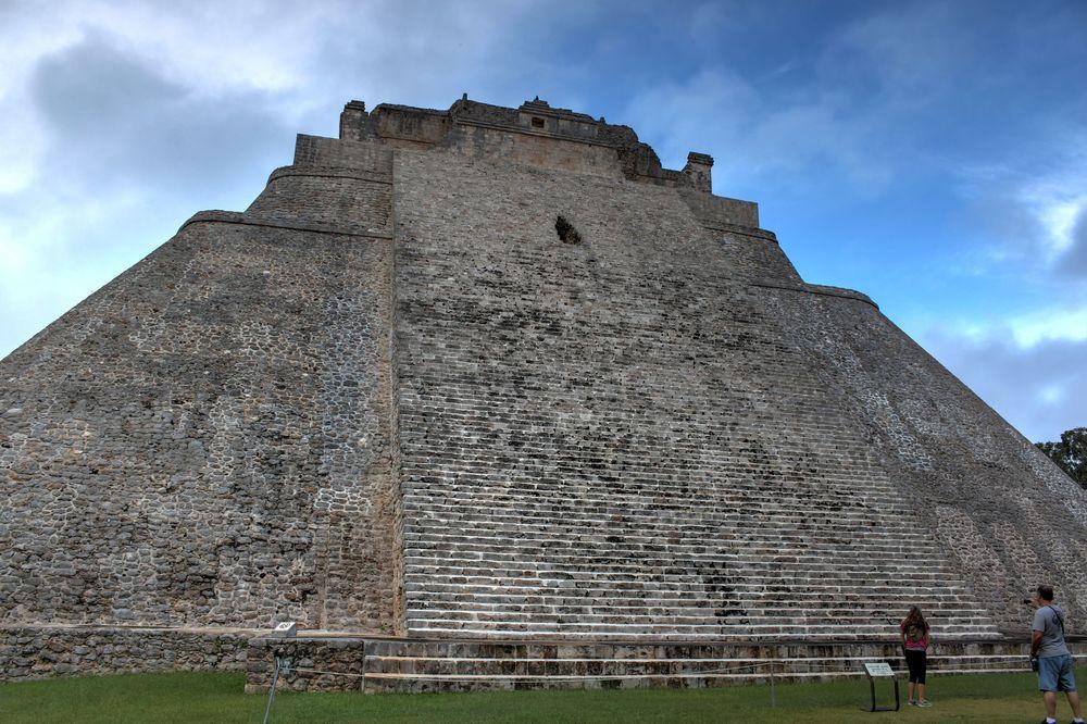 Temple de Uxmal, Yucatán, Mexico