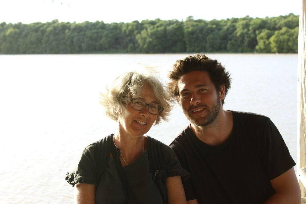 Marie et son fils Antoine, Celestùn, Yucatán, Mexico