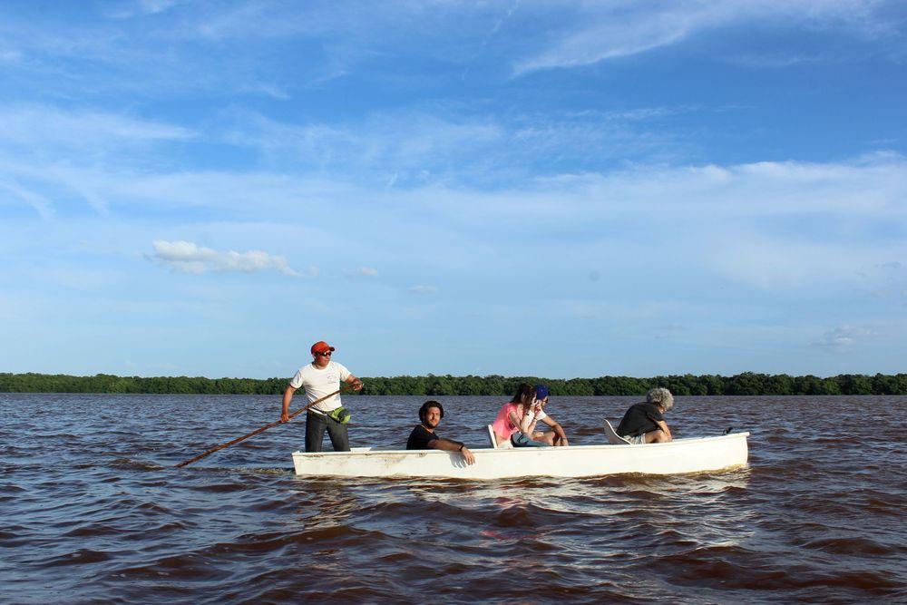 Balada en lancha, Celestùn, Yucatán, Mexico