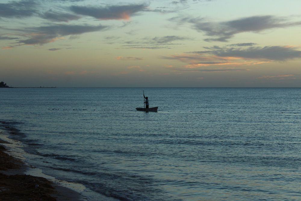 Pêcheur, Celestùn, Yucatán, Mexico