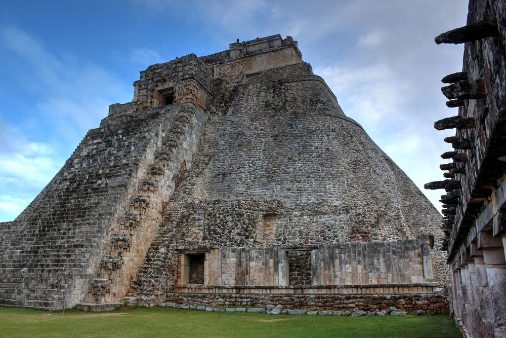 Temple de Uxmal, Yucatán, Mexic