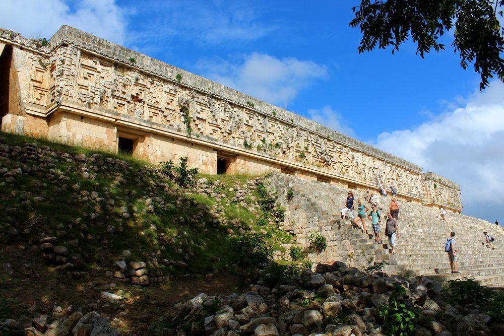 Site archéologique de Uxmal, Yucatán, Mexico