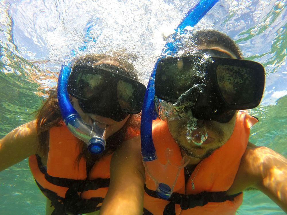 Snorkeling, Puerto Morelos, Quintana Roo, Mexico