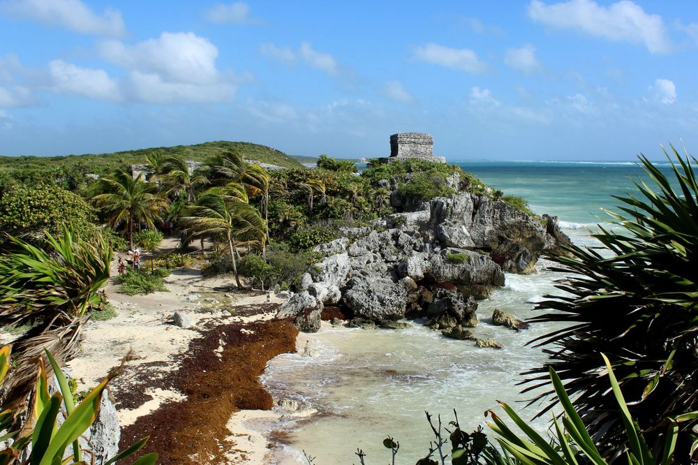 Site archéologique de Tulum, Quintana Roo, Mexico