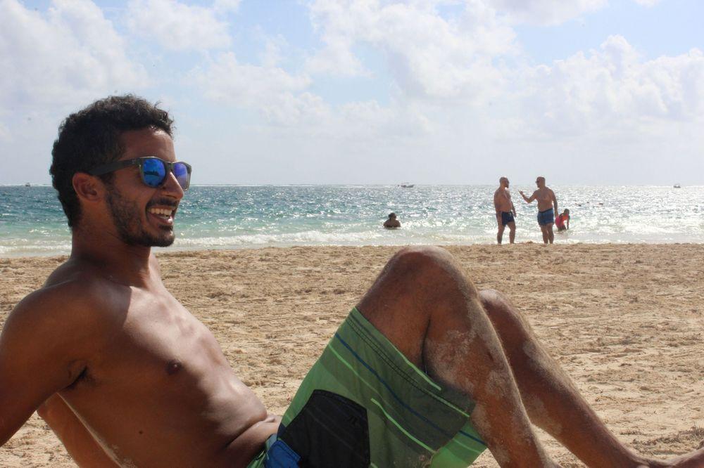 Les plaisirs de la plage, Puerto Morelos, Quintana Roo, Mexico
