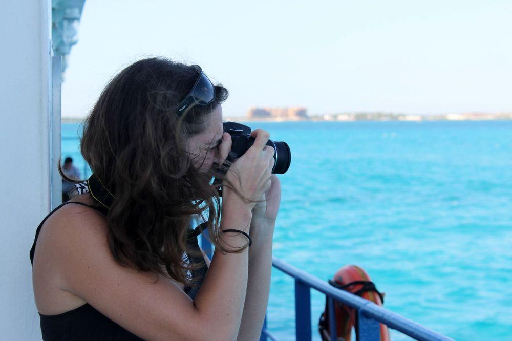 En plein shooting, Isla Mujeres, Quintana Roo, Mexico