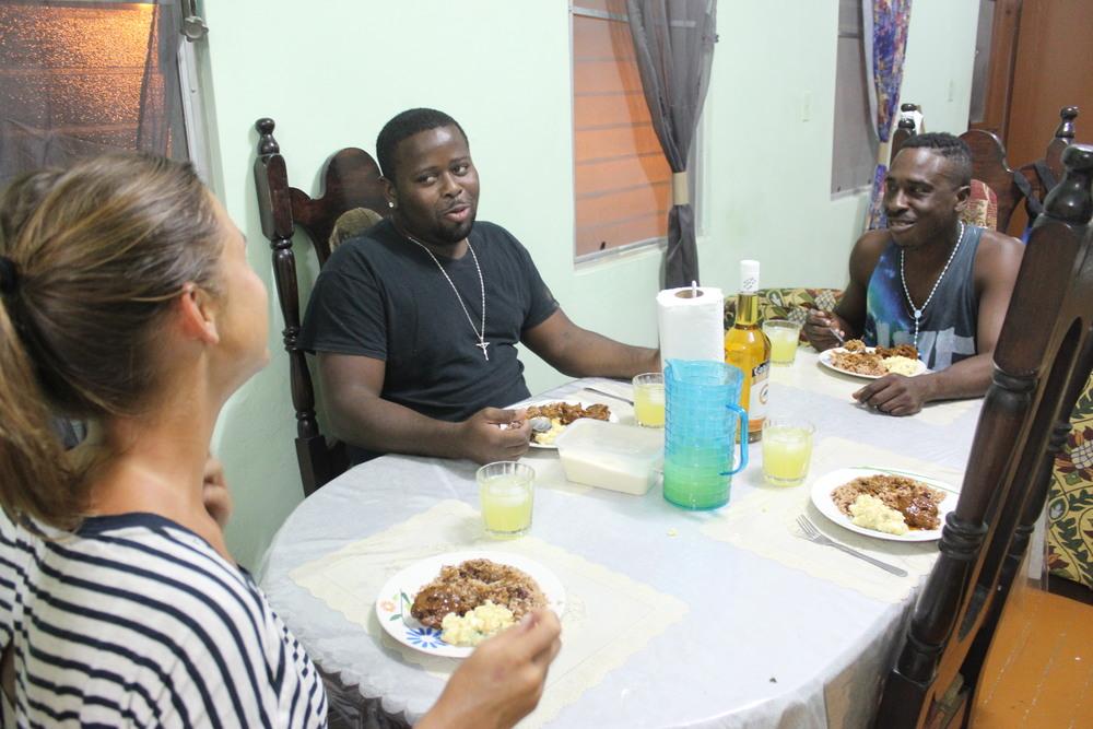 Chez Ian, Belize City, Belize