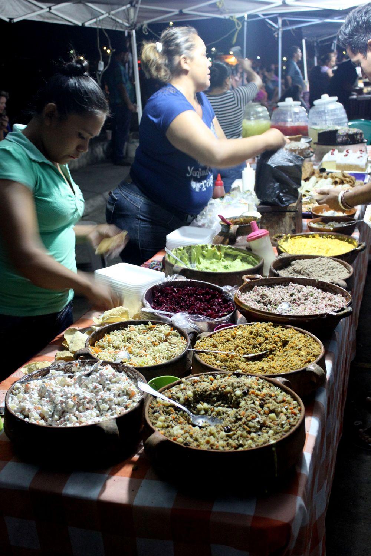 Bouffe de rue, Flores, Péten, Guatemala