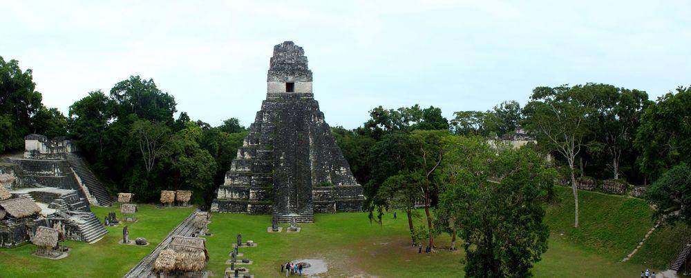 Site Maya de Tikal, Péten, Guatemala