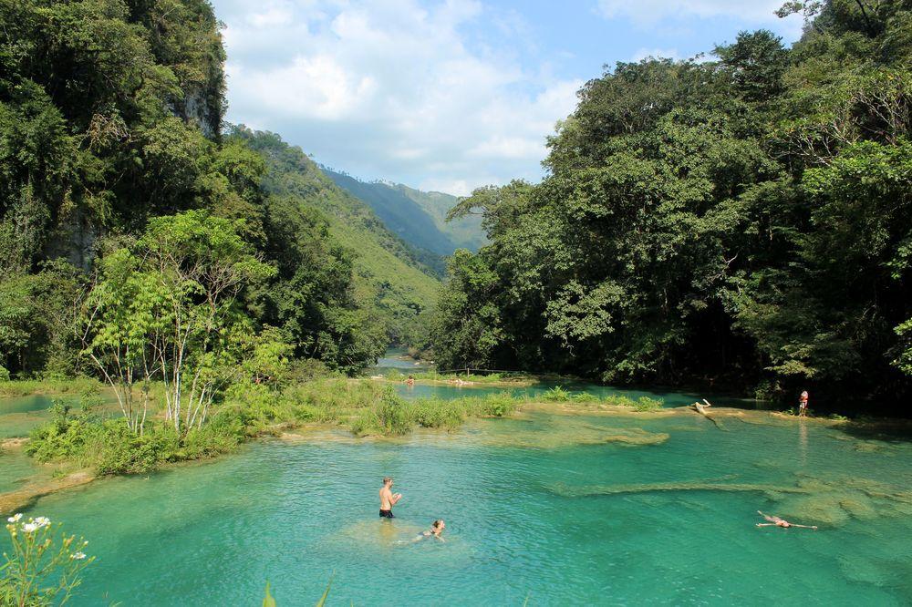 Semuc Champey, Alta Verapaz, Guatemala