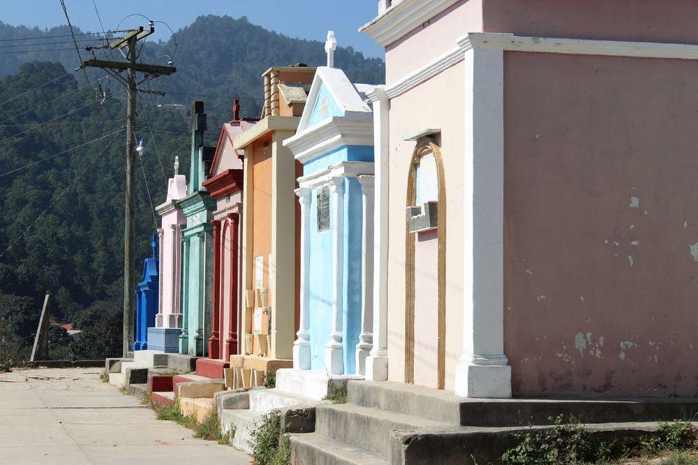 Cimetière de Chichicastenango, Sololá, Guatemala