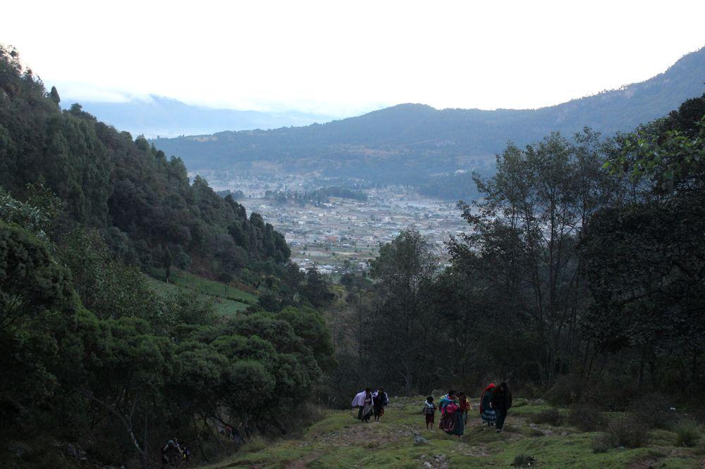 Volcan Santa Ana, Quetzaltenango, Guatemala