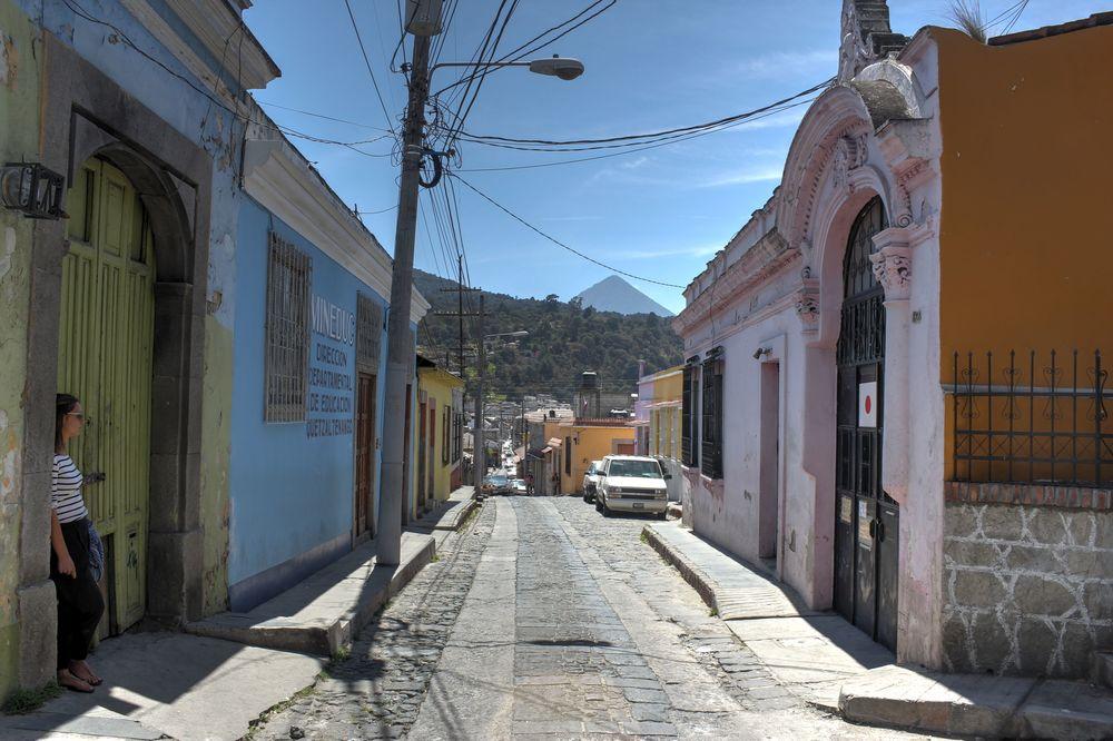 Dans les rues de Xela, Quetzaltenango, Guatemala