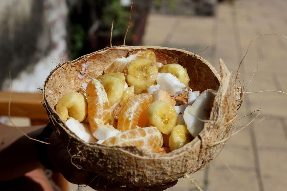 Petit déjeuner, Antigua, Guatemala