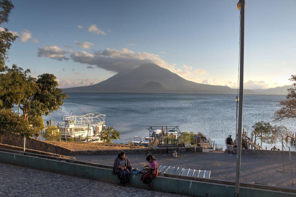 Panajchel, Lac Atitlán, Sololá, Guatemala