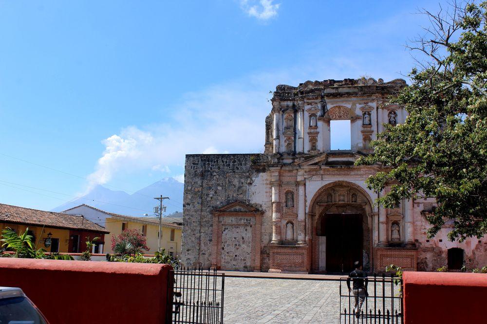 Compañia de Jesus, Antigua, Guatemala
