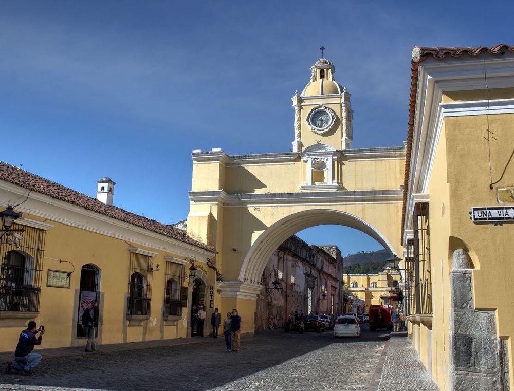 El arco de Santa Catalina, Antigua, Guatemala