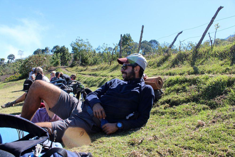 Fin du trek, Volcan Acatenango, Antigua, Guatemala
