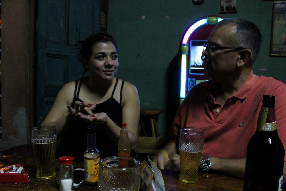 Au bar clandestin, Santa Ana, El Salvador