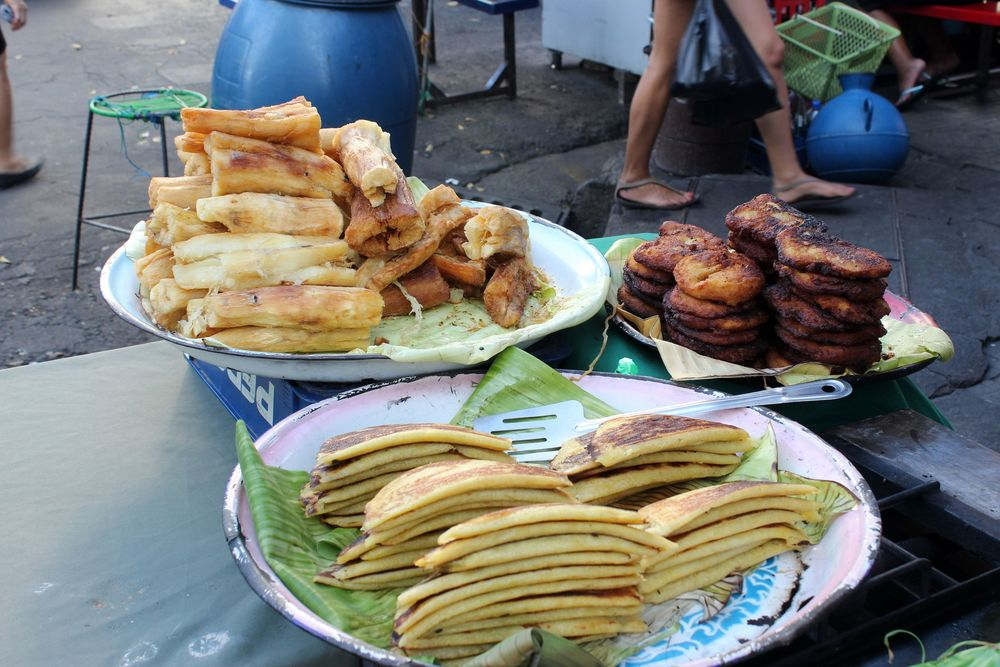 Bouffe de rue, Santa Ana, El Salvador