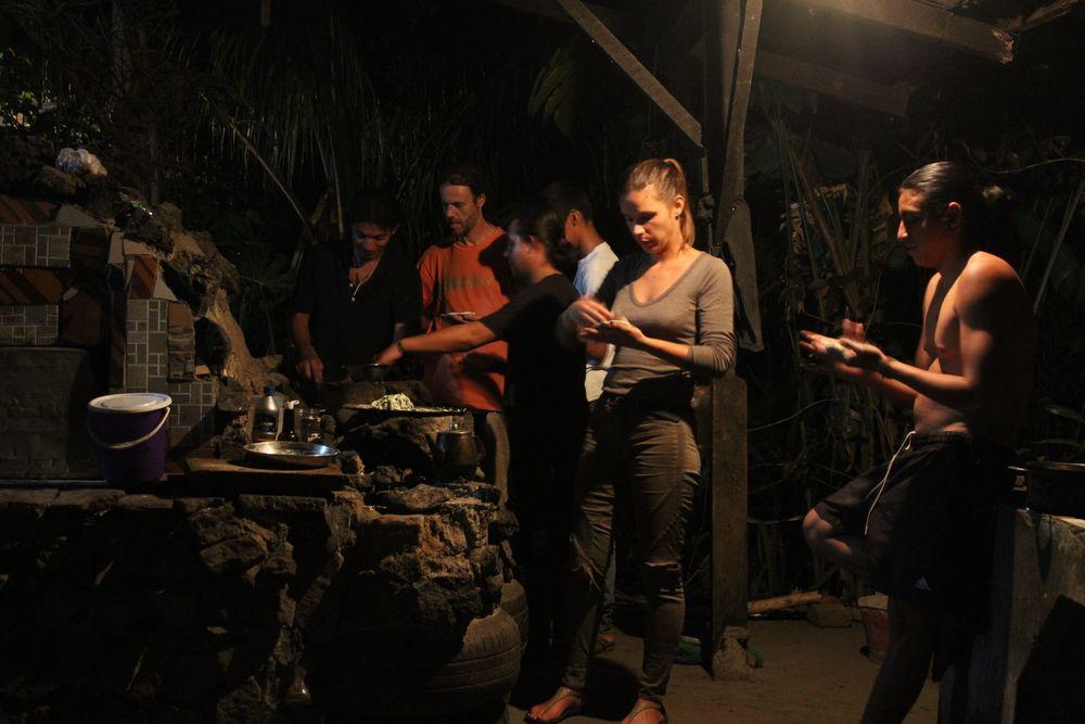 Pupusas Party, Bubble Organic Farm, San Salvador, El Salvador