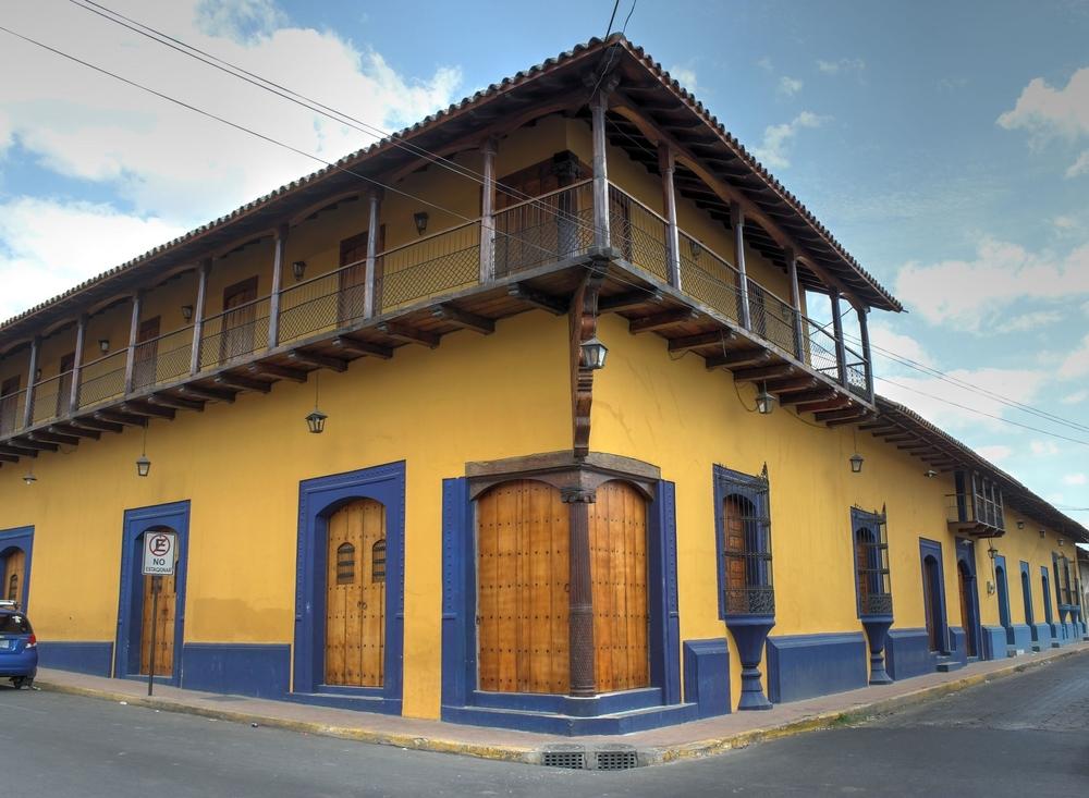 Dans les rues de León, Nicaragua