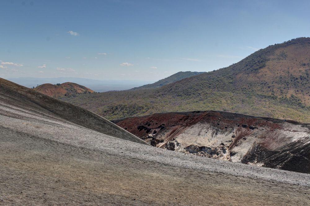 Cratère du volcan Cerro Negro, Nicaragua