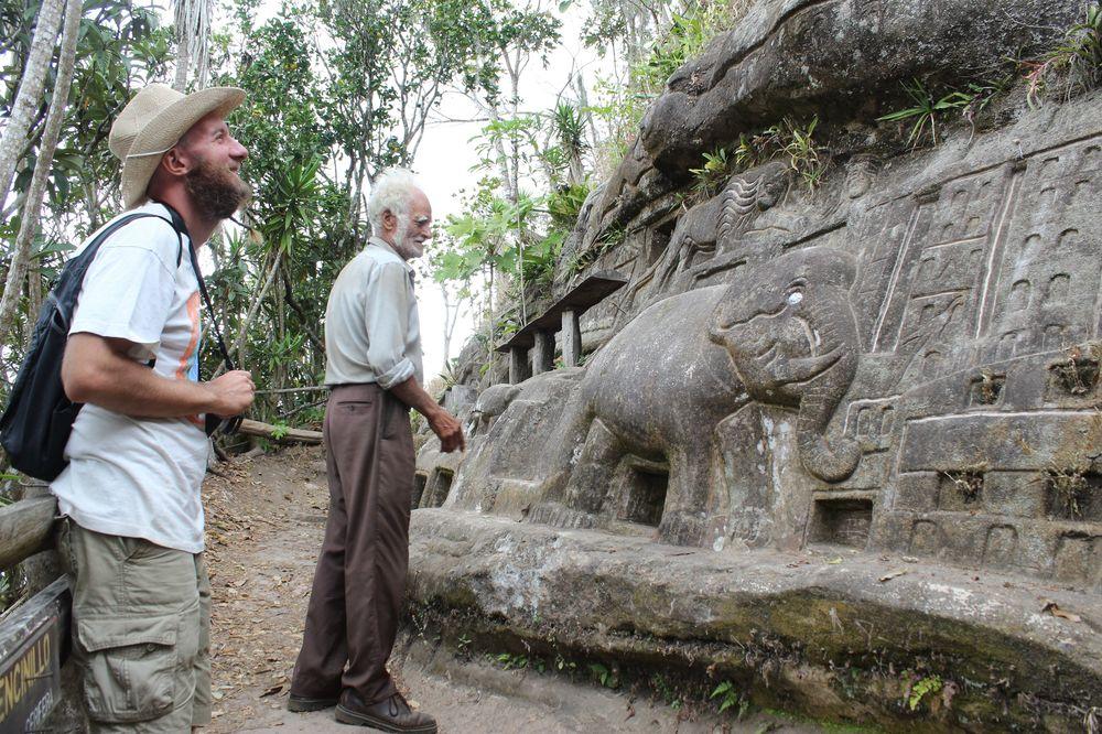Don Alberto et Oliver, Réserve naturelle de Tisey, Esteli, Nicaragua