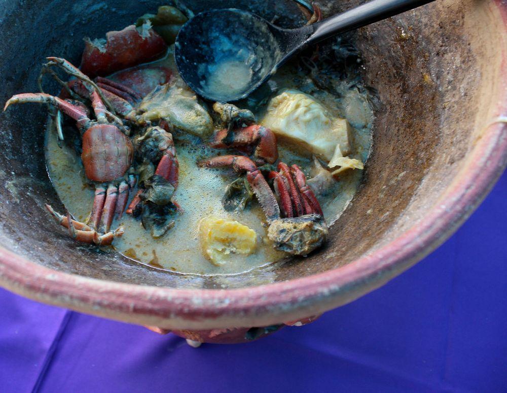 Sopa de mariscos, León, Nicaragua