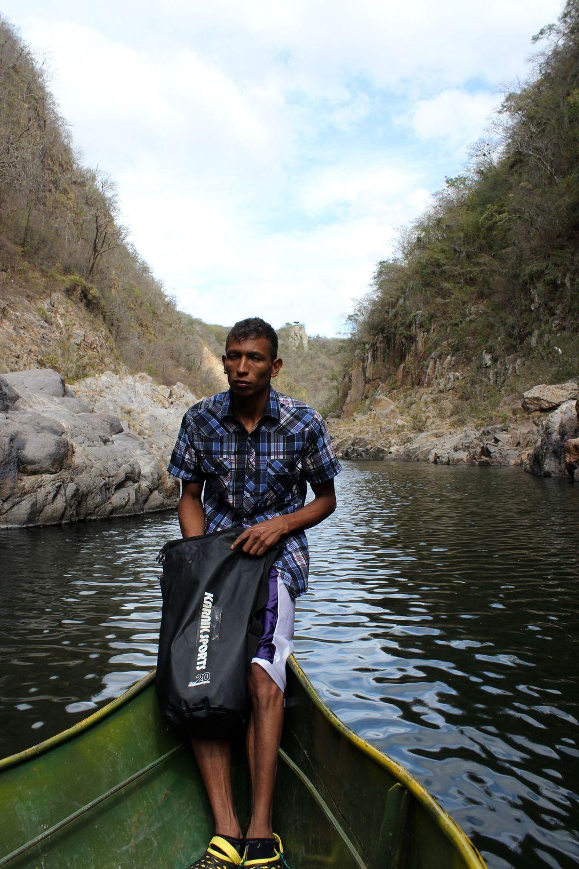 Notre guide, Canyon de Somoto, Madriz, Nicaragua