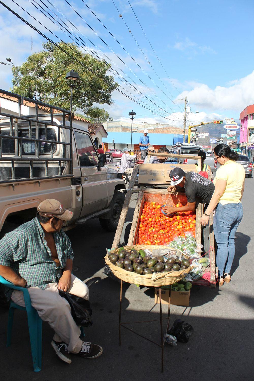 Marché d'Esteli, Nicaragua