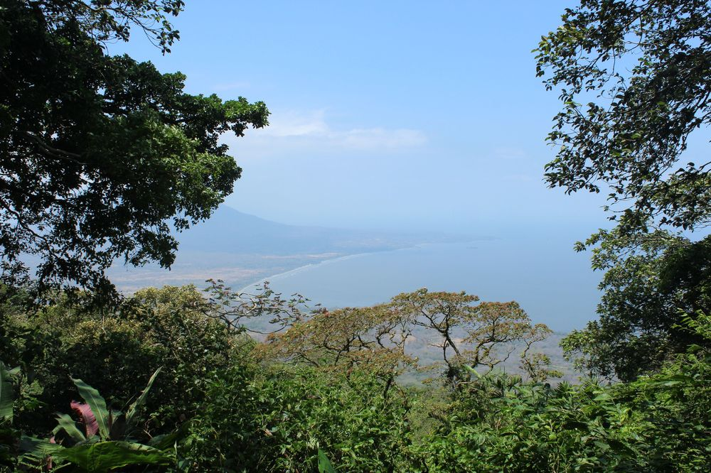 Vue du volcan Maderas, Île d'Ometepe, Nicaragua